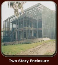Two Story Enclosure